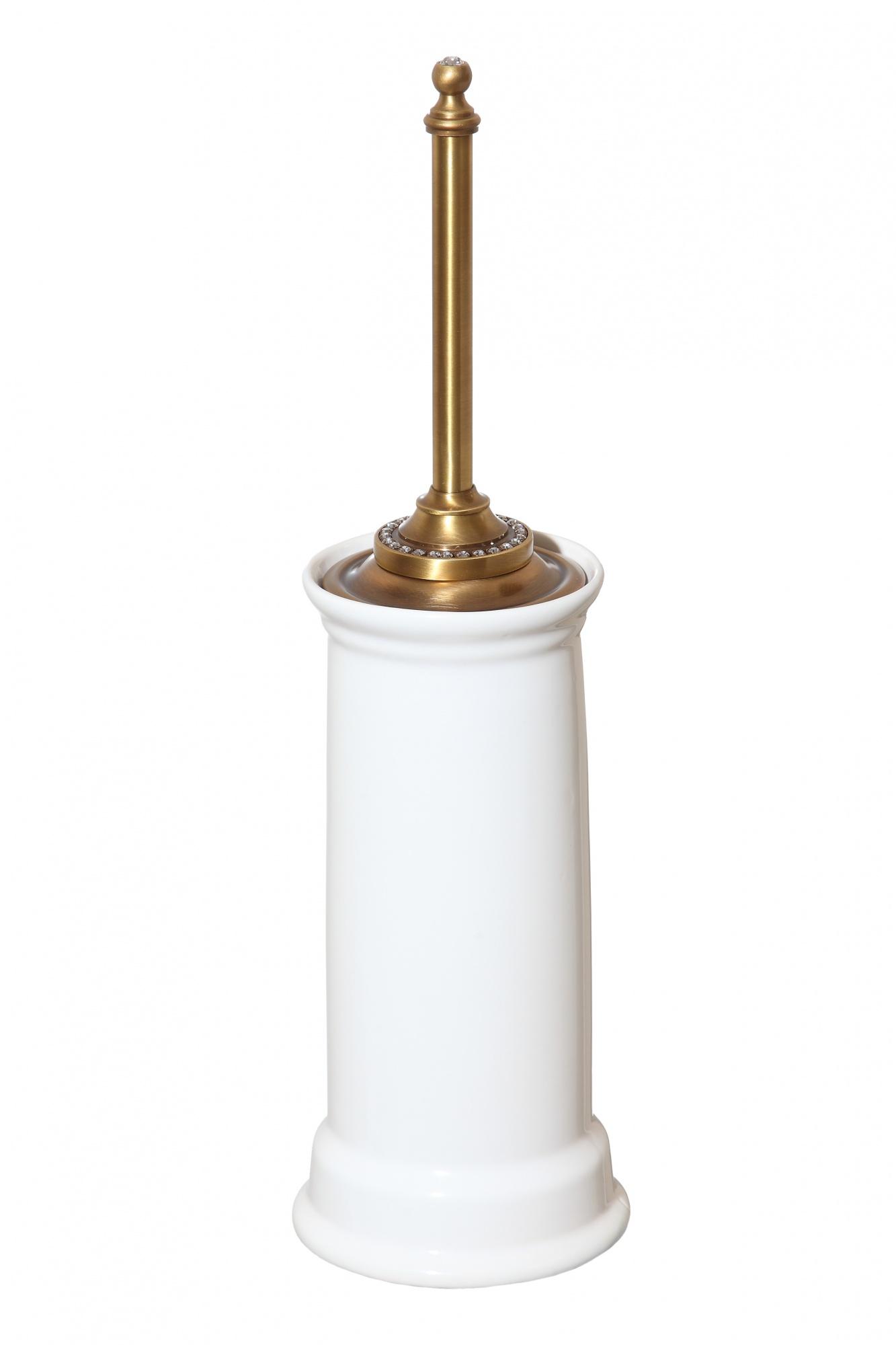 Ерш напольный бронза Cameya сваровски, керамика A1411K